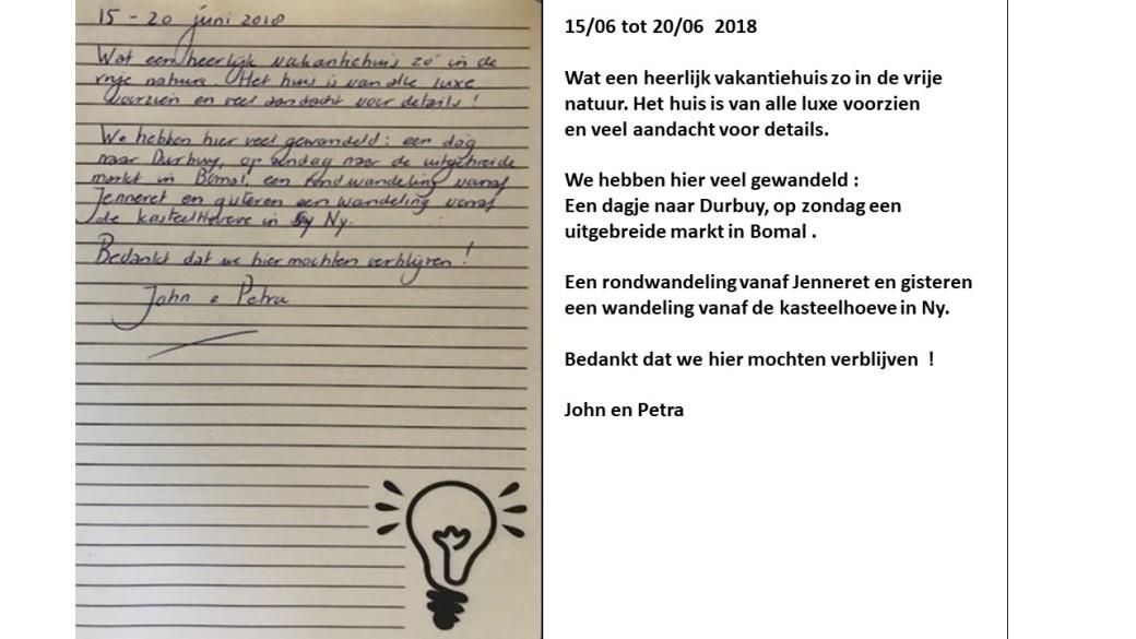 recensie John en Petra tekst