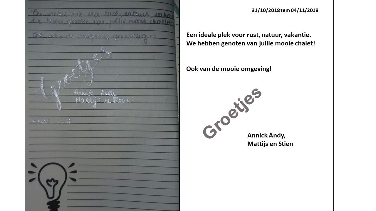 recensie Andy