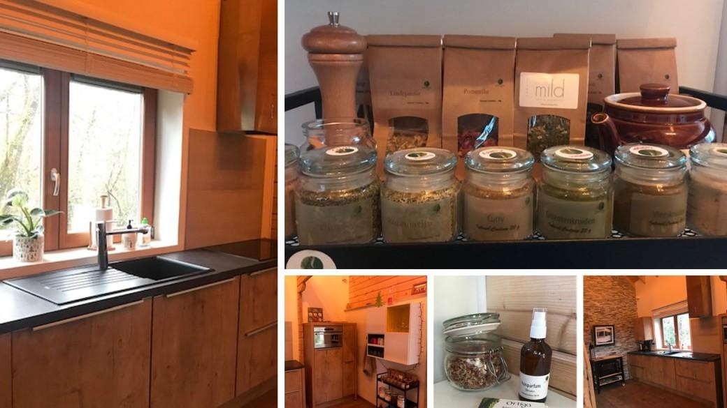 foto keuken chalet Herbongoo incl producten Ortiga